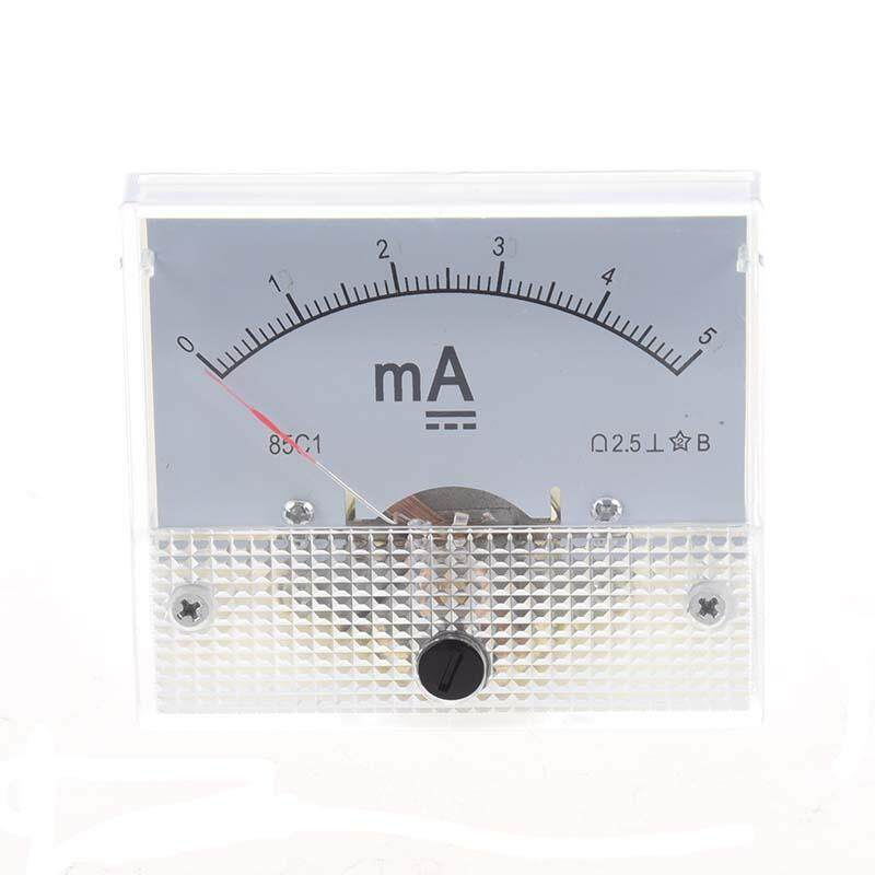 Class 2.5 Accuracy DC 0-5mA Analog Panel Meter Amperemeter