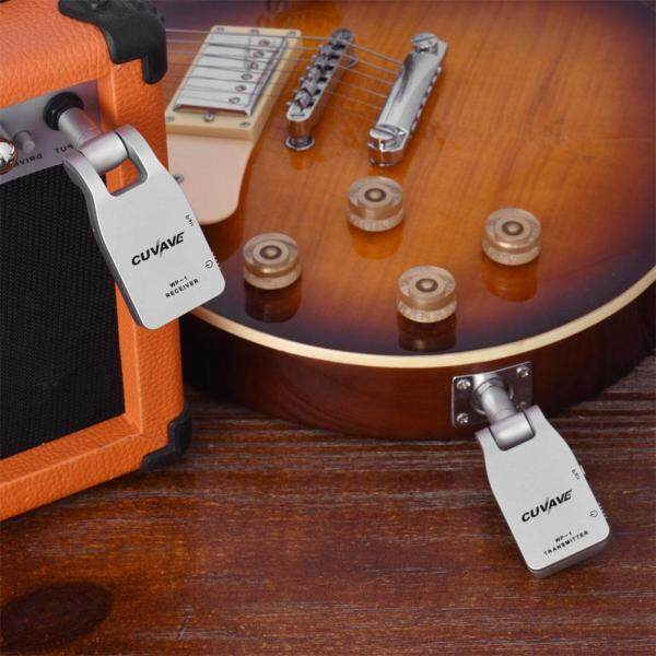 Wireless Guitar Transmitter Receiver 2.4G Built-in Rechargeable Lithium Battery 30M Transmission Range for Electric Guitar Malaysia