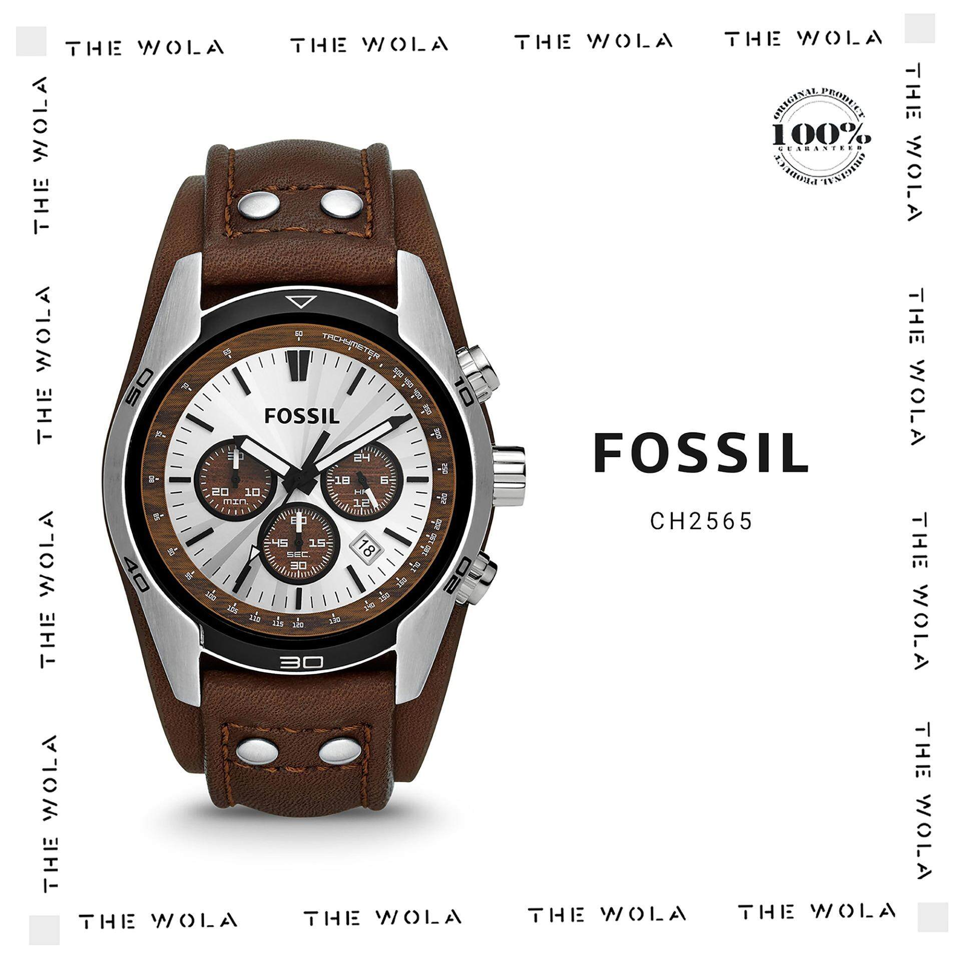 Fossil Watches Price In Malaysia Best Lazada Es3815 Jam Tangan Wanita Original Casual Men Watch Ch2565 Genuine 2 Years Warranty