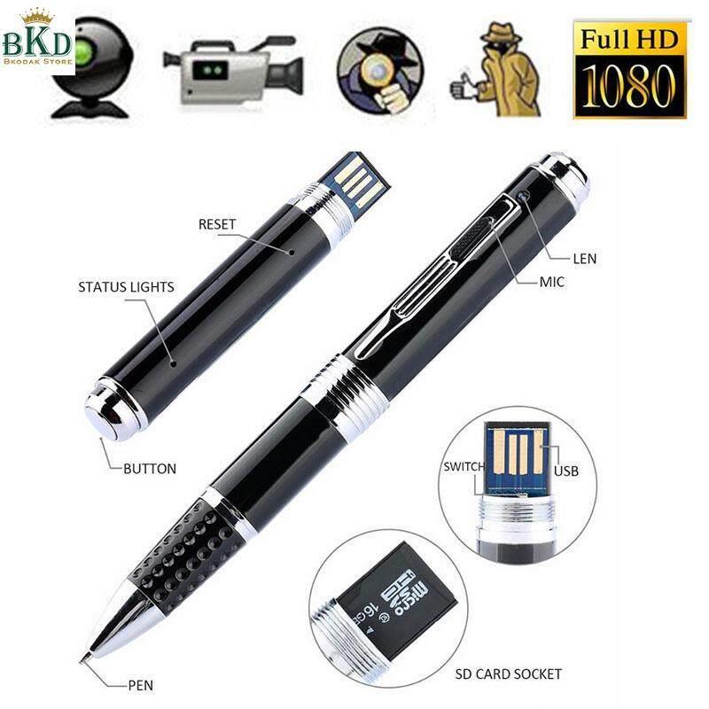 1080p 30fps Spy Dvr Hidden Camera Pen Usb Cable Dv Audio Video Recorders Cam By Bokeda Store.
