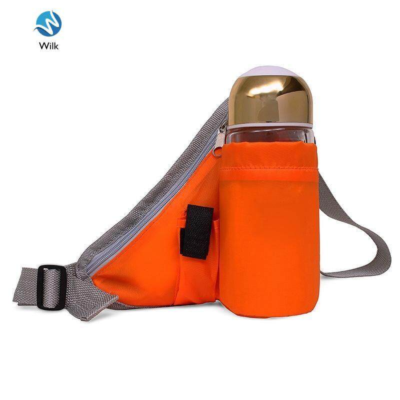 Lightweight Waterproof Belt Adjustable Belt, Increase The Water Bottle Bag Pockets Suitable For Running, Cycling, Hiking By Wilk.