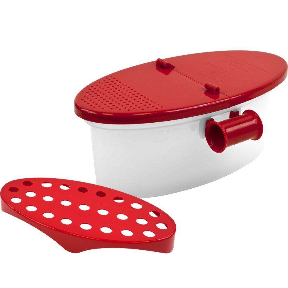 Free Shipping Microwave Pasta Cooker Spaghetti Cooking Box Vegetable Kitchen Gadget By Ralleya.