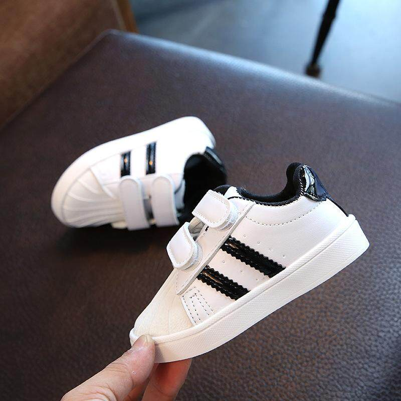 -Star 2018 Spring And Autumn New Style Children s Shoes Children White  Shoes Students Sneakers Boy s b946cf0788ce