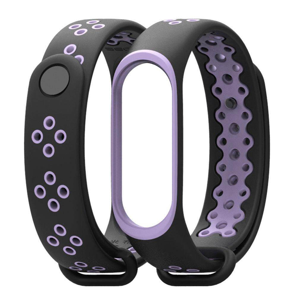OEM Compatible Xiaomi Mi Band 3 Bracelet, LAYOPO Silicon Sport Replacement Strap Wristband Accessories Colorful