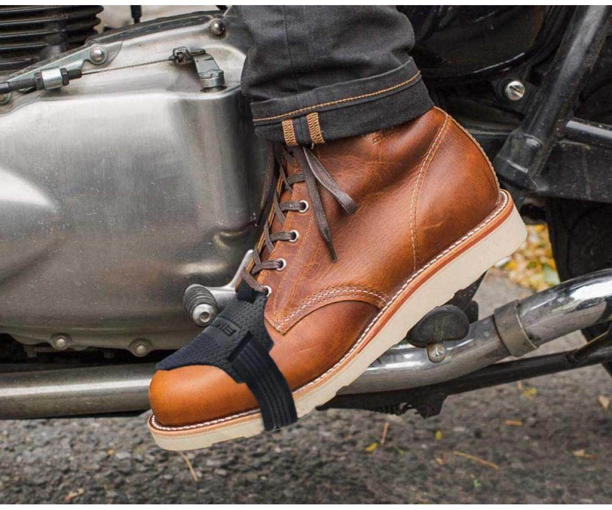 Komine Motorcycle Boots Shifter Shoes Protector Shift Sock Boot Cover Protective By Motorbay.