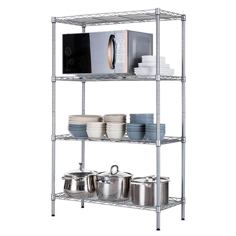 Flexc Adjule 4 Tier Shelf Rack 1 2m With Free Gift