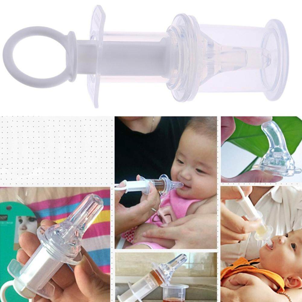 Baby Infant Clear Syringe Pacifier Medicine Dropper Dispenser Water Milk Feeder By Baby Caring.