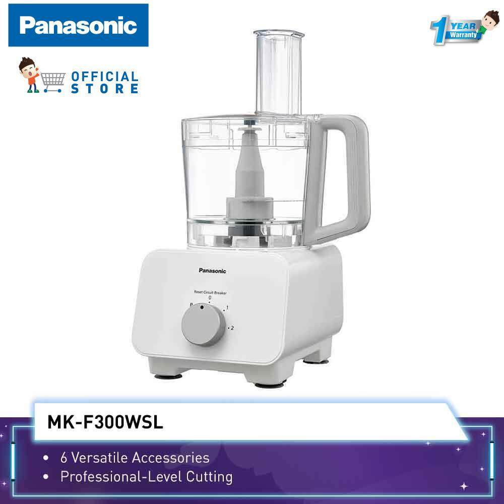 Panasonic Food Processor MK-F300 (1000W) 6 Accessories