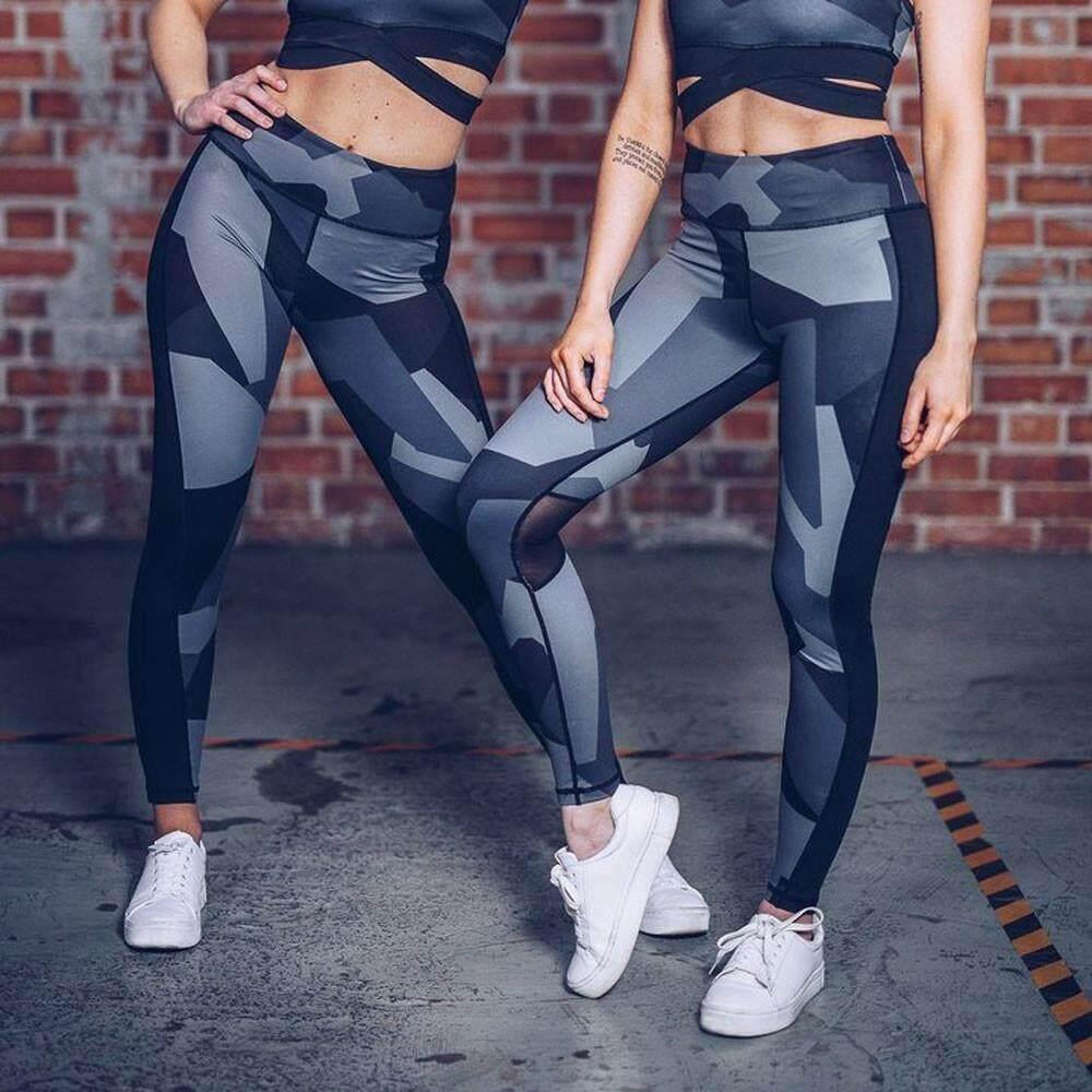 Women Leggings Camouflage Fitness Skinny Gym Sports Exercise Yoga Long Pants 1154d2f1bd70