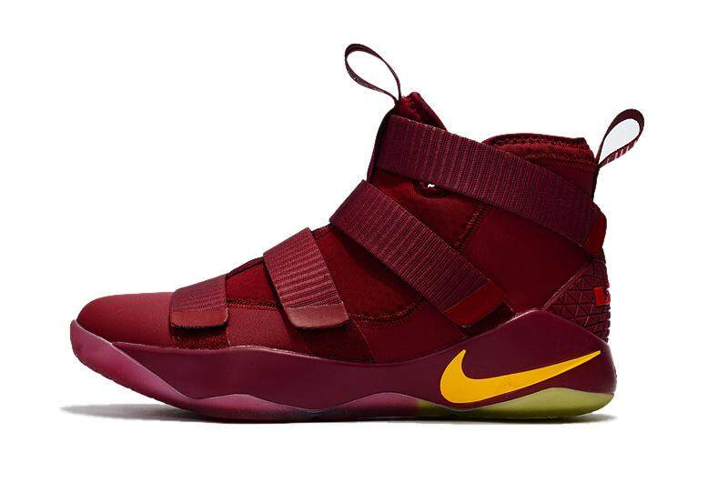Official Basketball Shoe Cleveland Cavaliers  23 NlKE LEBRON SOLDIER 11 LBJ  LeBron James Athletic Shoes 75119dae08