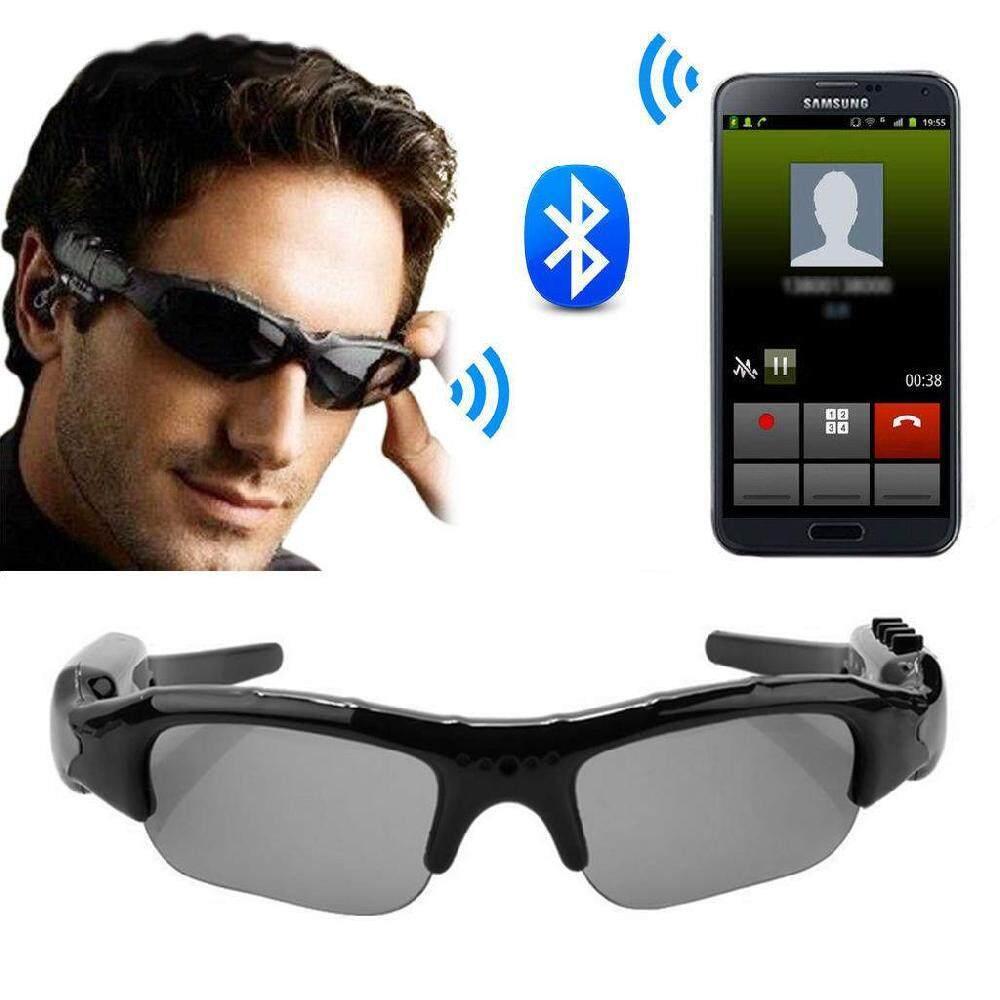 410d65fe50fa LISSNG Bluetooth4.1 Smart Glasses HD 1080P Camera Glasses Sun Glasses  Support Microphone Recording Taking