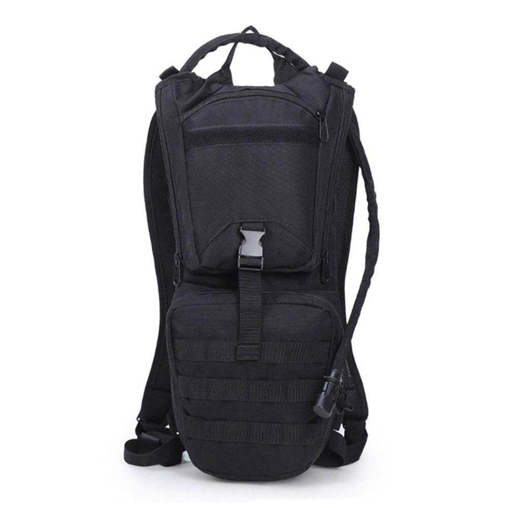 Backpack With 2.5l Liner Reservoir For Men Women Hiking Cycling Running Climbing Hunting(black) By Jonesmayer.