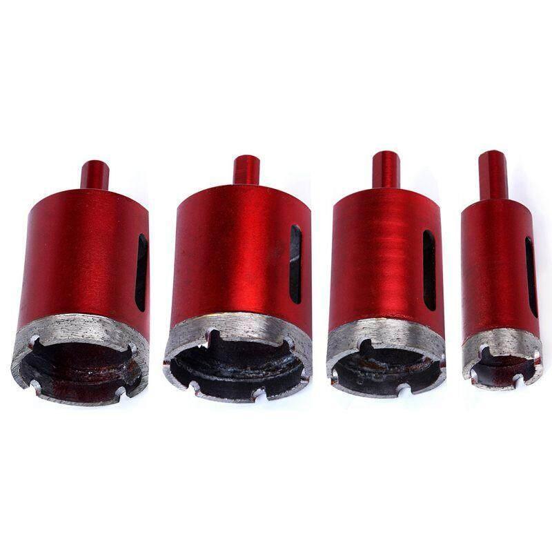 4Pcs 25/40/45 / 50mm Saw Bell Diamond Drill Bit Coated Core Metal