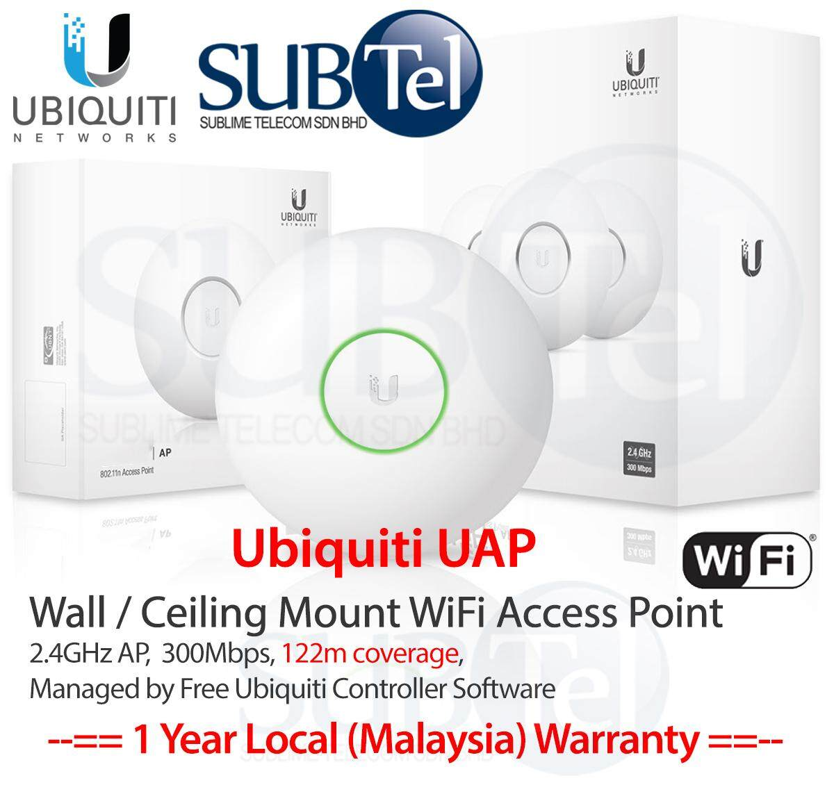 Ubiquiti Networks Buy At Best Price In Malaysia Unifi Ap Long Range Uap Lr Ceiling Wall Mount Wifi 24ghz Ubnt 300mbps 122m