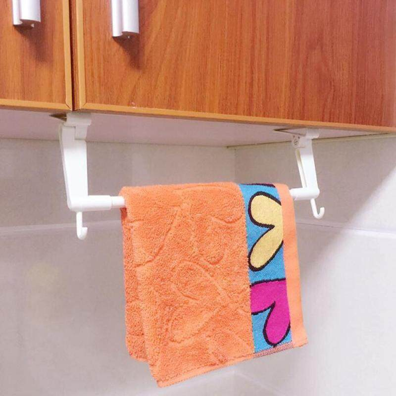 Toilet Paper Bathroom Plastic Kitchen Towel Facial Rack Hanging Door Hanger