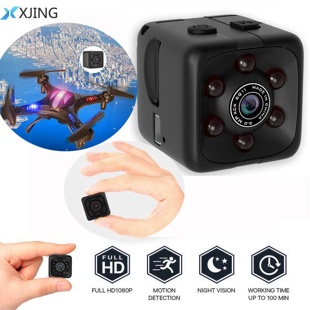Xjing Spy Hidden Camera 1080p Portable Cube Mini Security Wireless Camera Usb Cam With Night Vision For Home And Office No Wifi Function By Xjing.
