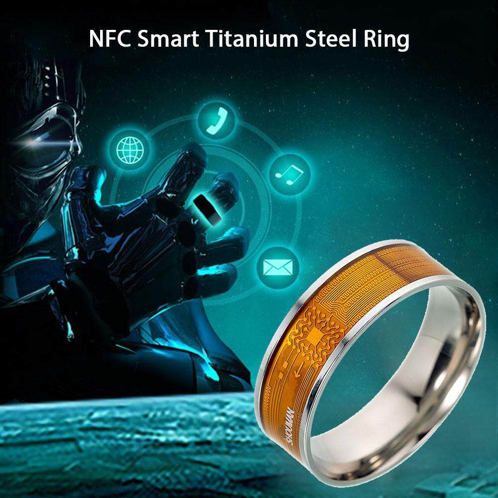 LightSmile R3F Waterproof Smart Ring App Enabled Wearable Technology Magic  Ring For iOS Android Windows NFC Smartphones