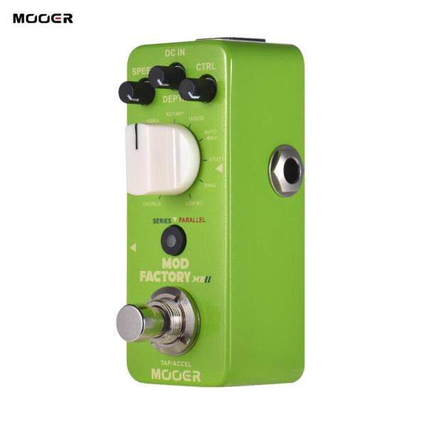 MOOER MOD FACTORY MKII Multi Modulation Effect Pedal 11 Modulation Effects Tap Tempo True Bypass Full Metal Shell Malaysia