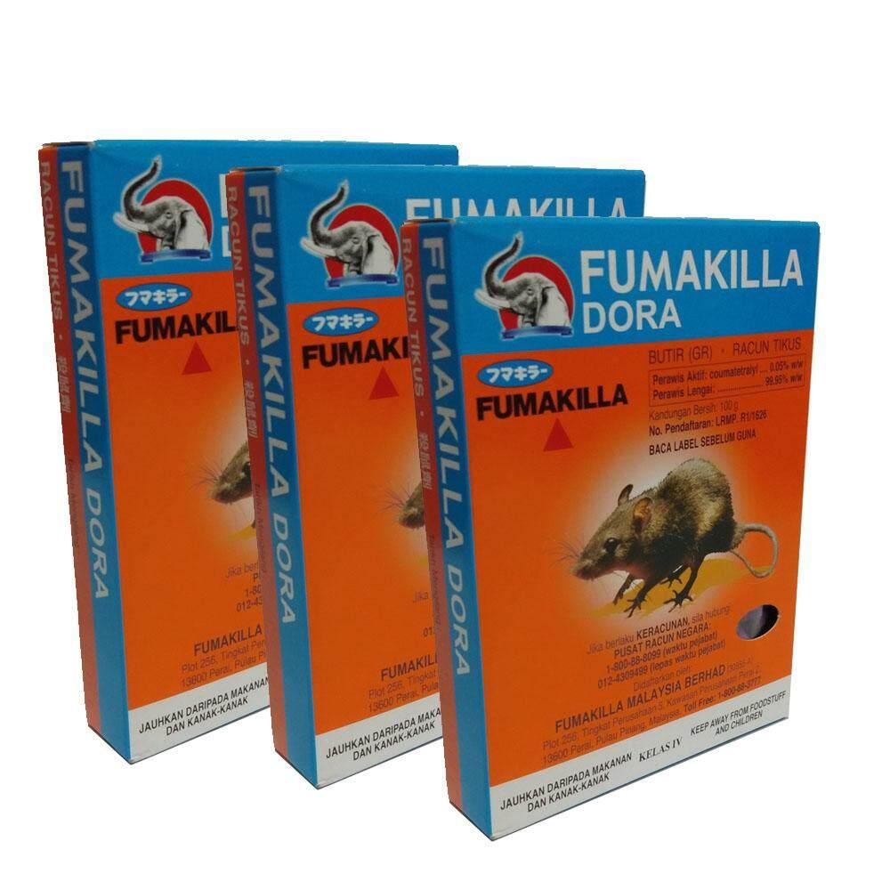 RACUN TIKUS FUMAKILLA DORA (100g x 3pcs)