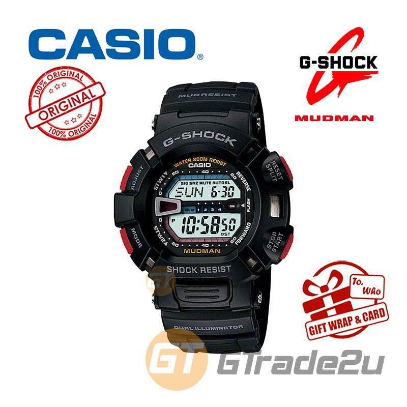 aee7bd7989705 CASIO G-SHOCK G-9000-1V MUDMAN Watch Rally Motor Sport Dual Illumin