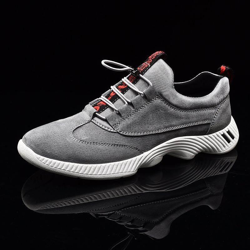 Big Size 45 46 Popular Style Men Running Shoes Outdoor Walking Jogging Footwear Lace Up Sport