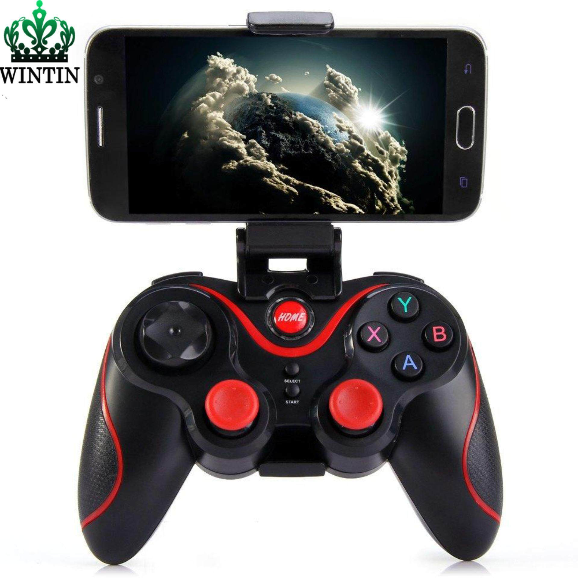 Wintin T3 Game Controller Smart Wireless Joystick Bluetooth Android Gamepad Gaming Remote Control Eat Chicken for