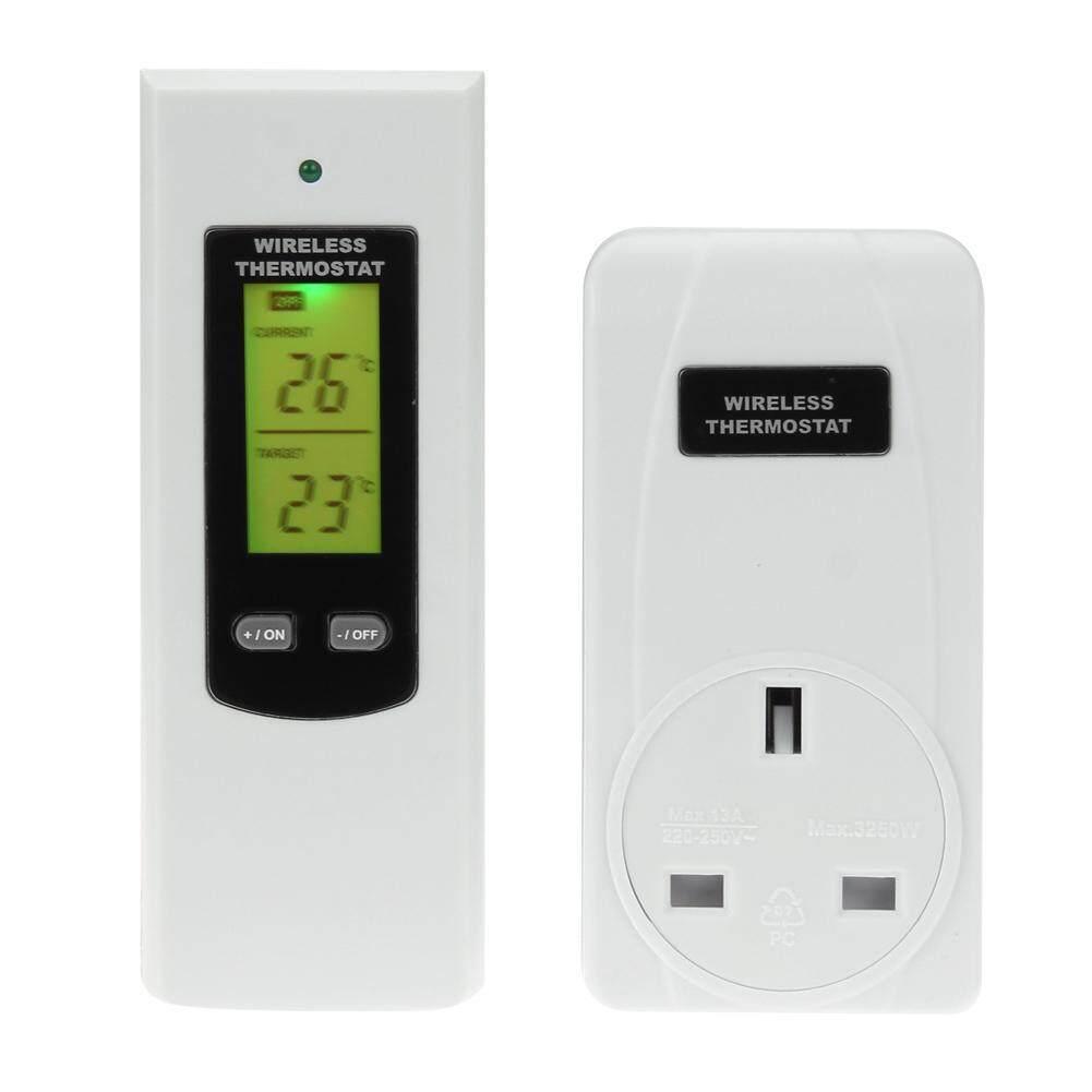 Remote Control Wireless RF Plug In Thermostat Hydroponic KIT Greenhouse 3KW
