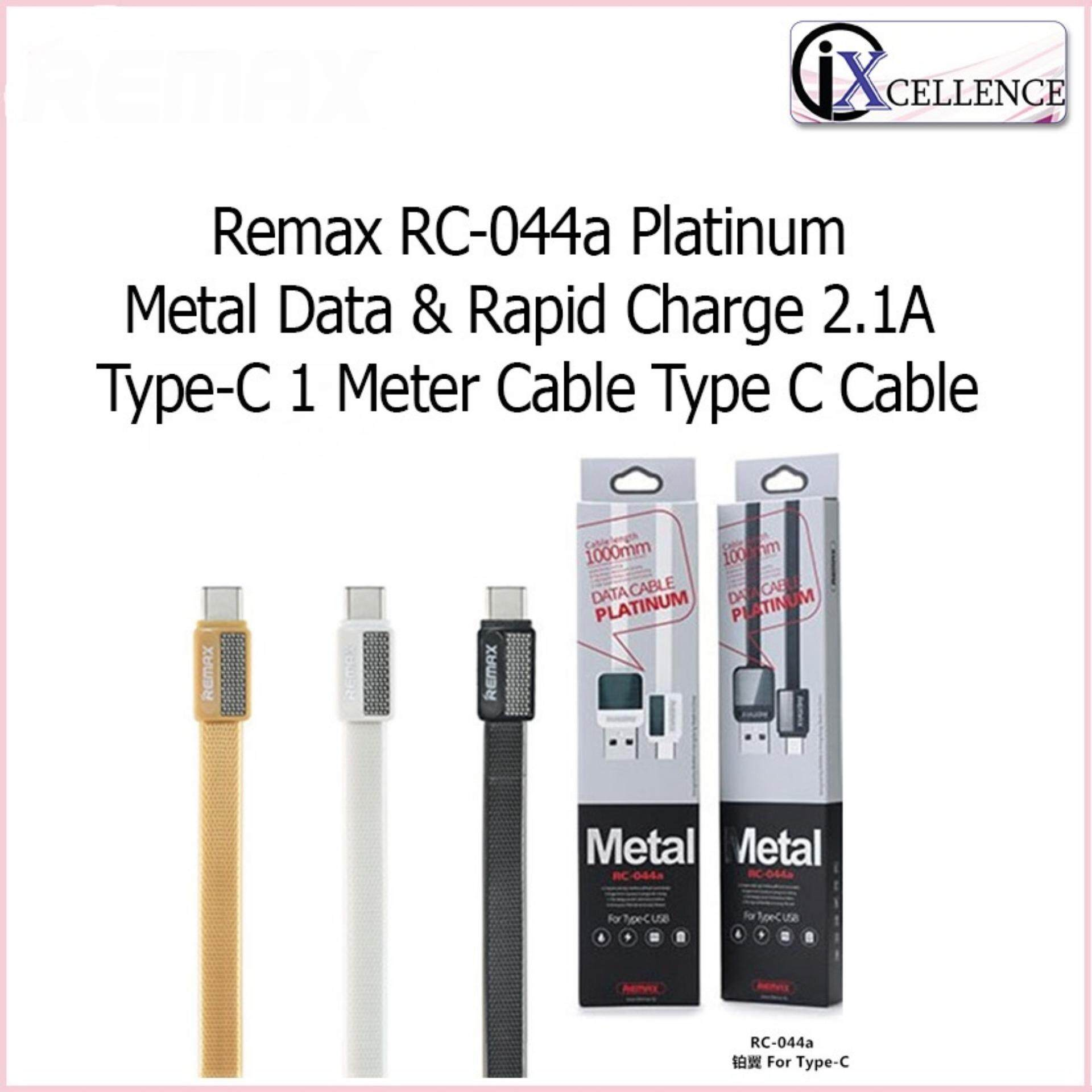 Remax Cables For The Best Prices In Malaysia Apple Lightning Gold Ix Rc 044a Platinum Metal Data Rapid Charge 21a Type