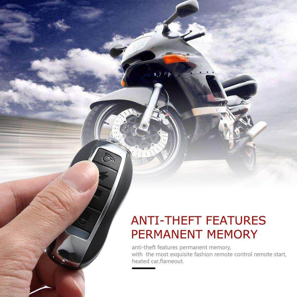 Alarm Systems Accessories Buy At Remot Motor Run2 Motorcycle Bike Anti Theft Security System Remote Control Engine 48v 64v