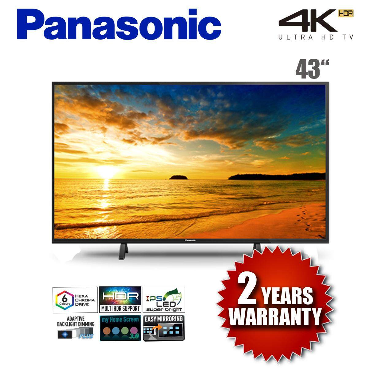 PANASONIC TH-43FX500K 4K ULTRA HD LED SMART TV 2018 MODEL