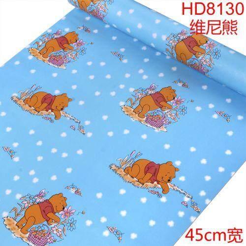 45cm*10m± pooh wallpaper
