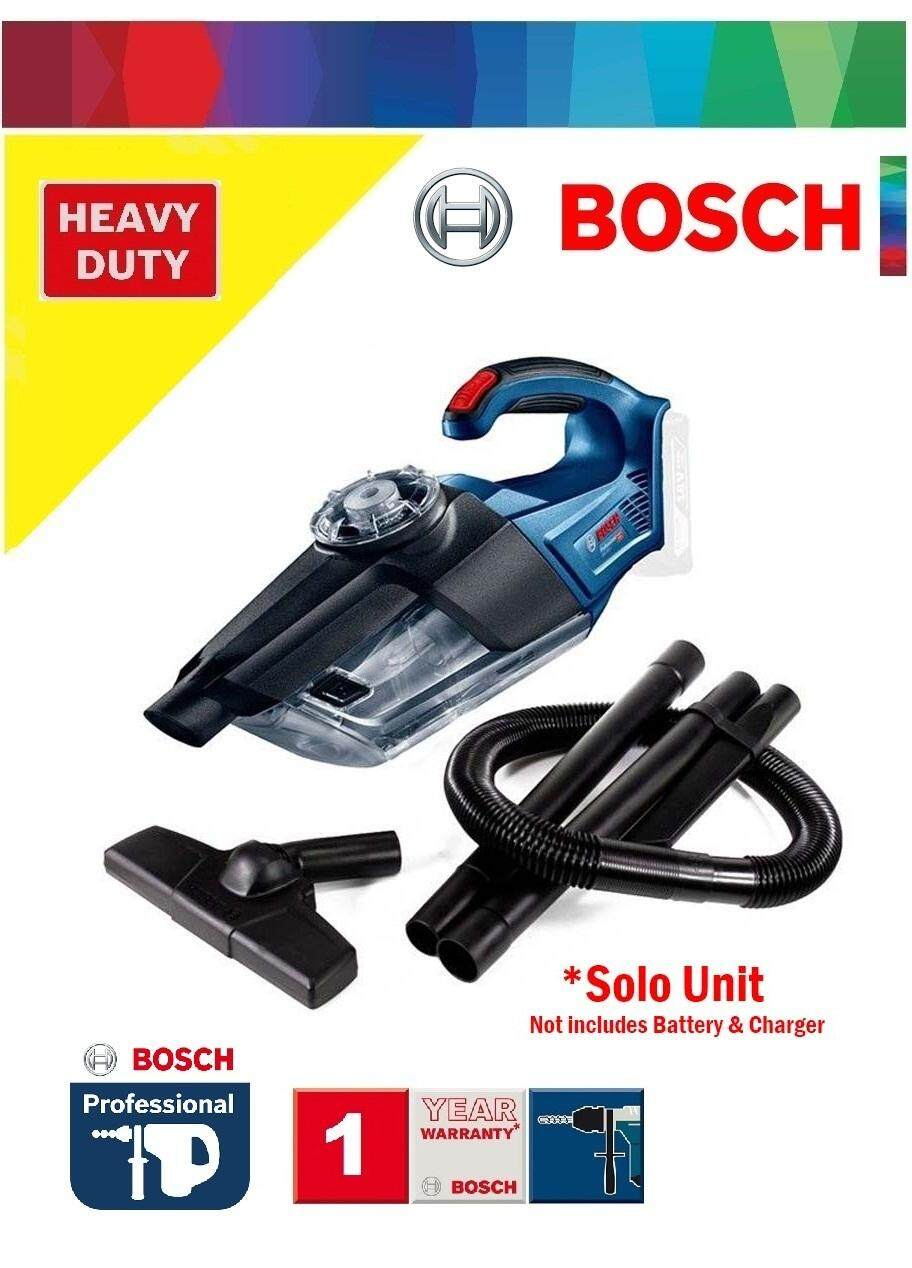 Bosch GAS 18V-1 Cordless Dust Extractor Cleaner (Solo Unit), Cordless Vacuum Cleaner