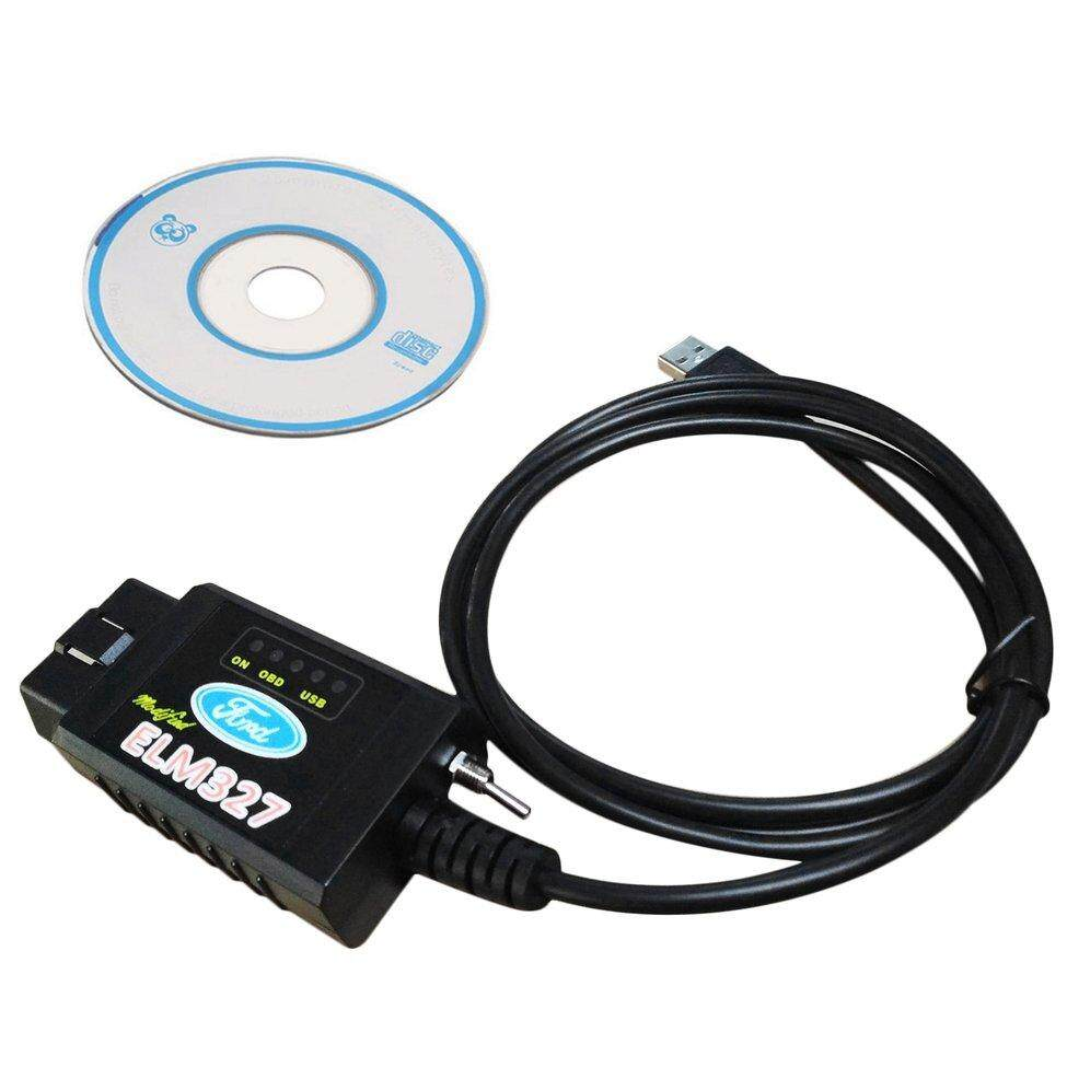 OH USB Modified ELM327 MS-CAN HS-CAN Forscan OBD2 Diagnostic Scanner For  Ford