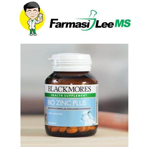 Blackmores Bio Zinc Plus 90s (Exp 08/2021)