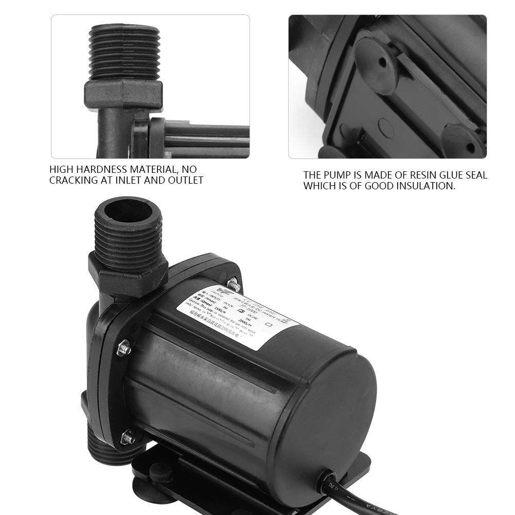 【Imported】Mini DC Brushless Water Pump for Solar Water Heater 24V -40℃ ~100℃