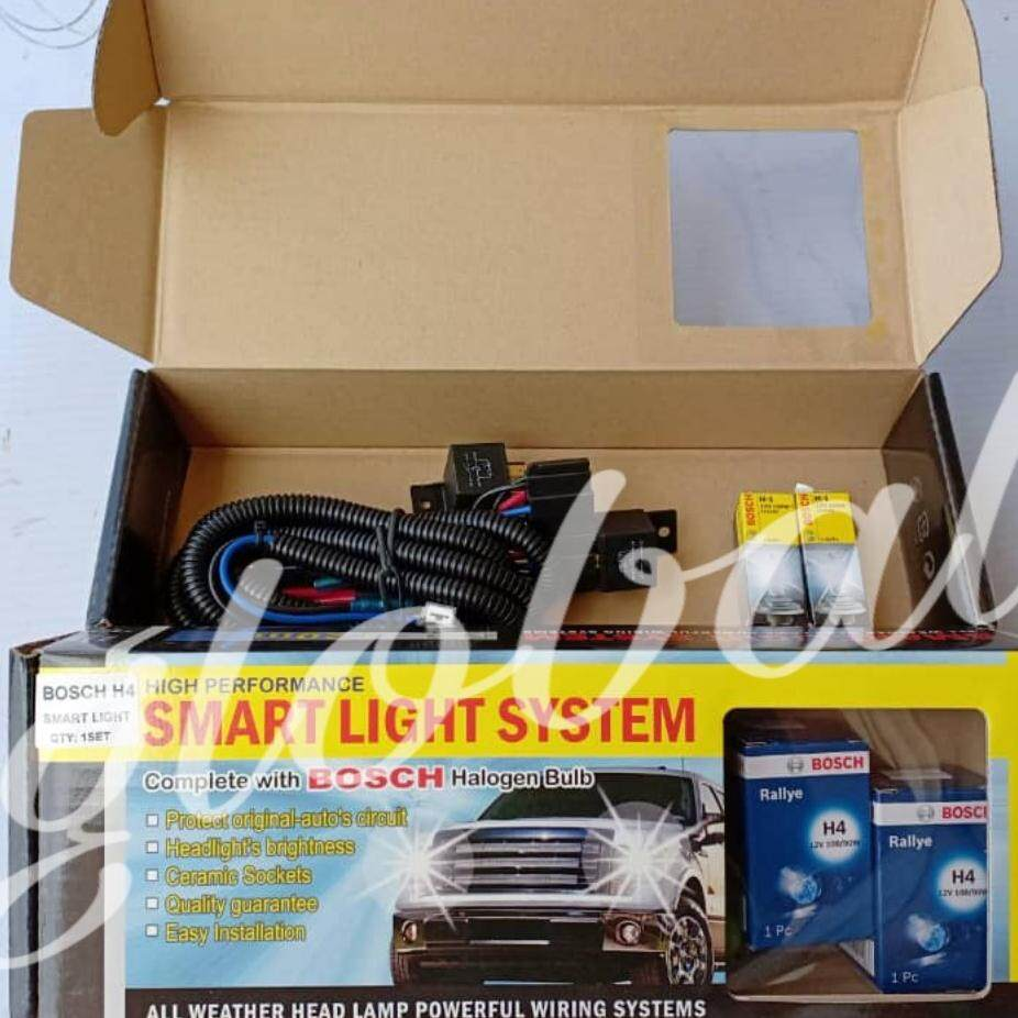 Automotive Accessories 5 Buy At Best Wiring Fog Lamp Exora Bosch Smart Light H4 100w And Headlamp Cable