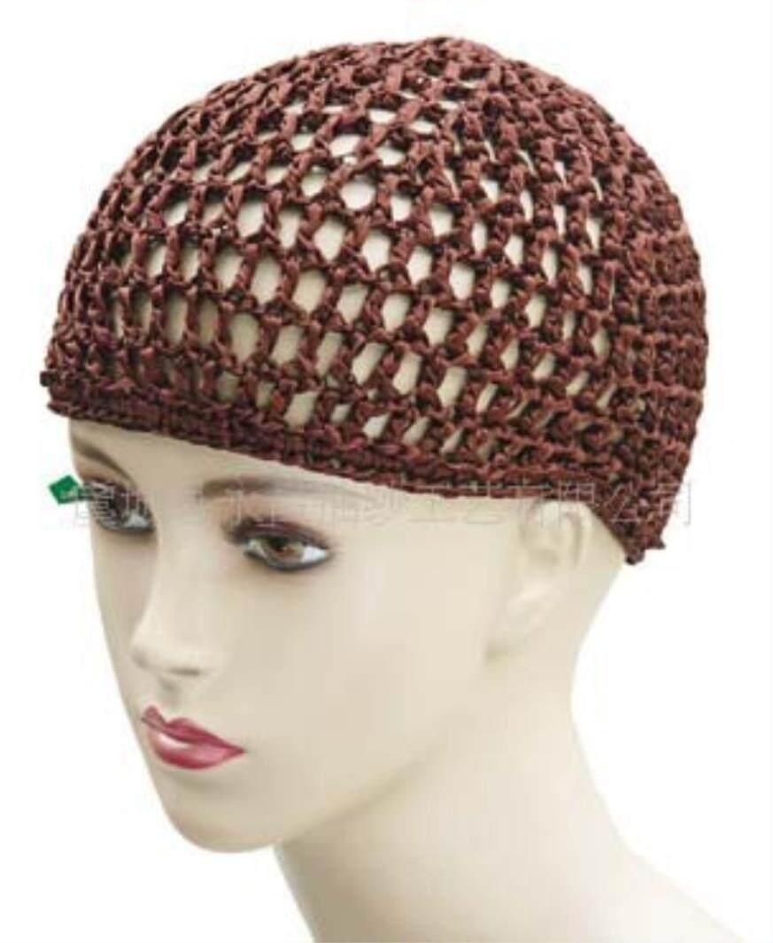 Hand Crochet Cap, Net Hat, Muslim Hat, Hollowed Out Net Cap, Night Cap By Holisport.