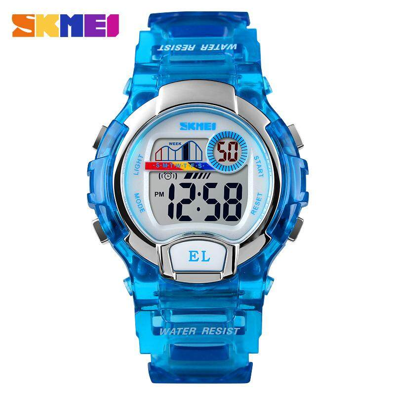 Watches Dependable New Skmei Famous Brand Outdoor Sports Children Watch Kids Watches Boys Girls Led Digital Wristwatches Waterproof Kid Watch Clock