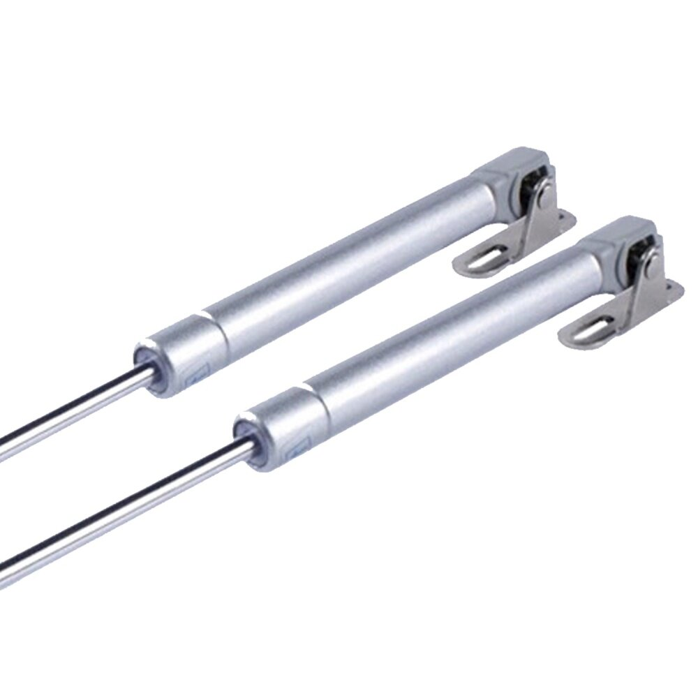 2PCS 10 inch Length Lift Pneumatic Gas Springs Flap Stay Strut Support for Cabinet Door Lids Hoods Canopies 100N Force
