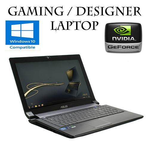 Asus N53 intel core i5 8GB 500GB DVD HDMI WIFI GAMING LAPTOP GTAV FORTNITE DOTA2 (refurbished) Malaysia
