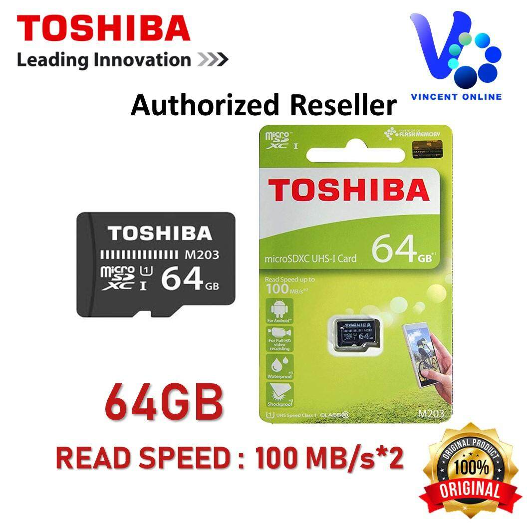 Sell Toshiba Microsd 64gb Cheapest Best Quality My Store Exceria Micro Sdxc Uhs I Class 10 48mb S Myr 52 64 Gb U1 100mb Microsdhc Memory Card M203 Malaysiamyr52