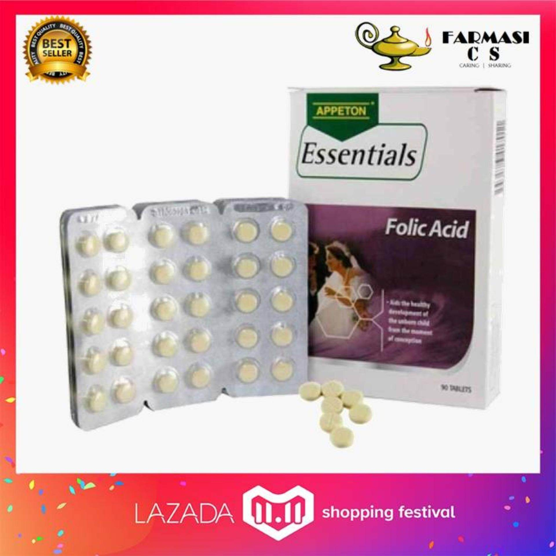 Food Supplements Products With Best Price At Lazada Malaysia Appeton Multivitamin 60tablet Essentials Folic Acid 90s Exp6 2021