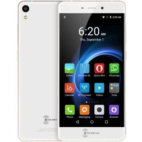KEN XIN DA R6 5.2 INCH ANDROID 5.1 SMARTPHONE MTK6753 OCTA CORE 1.3GHZ 2GB RAM 16GB ROM CORNING GORILLA GLASS 3 SCREEN GPS DUAL CAMERAS WIFI GOLDEN