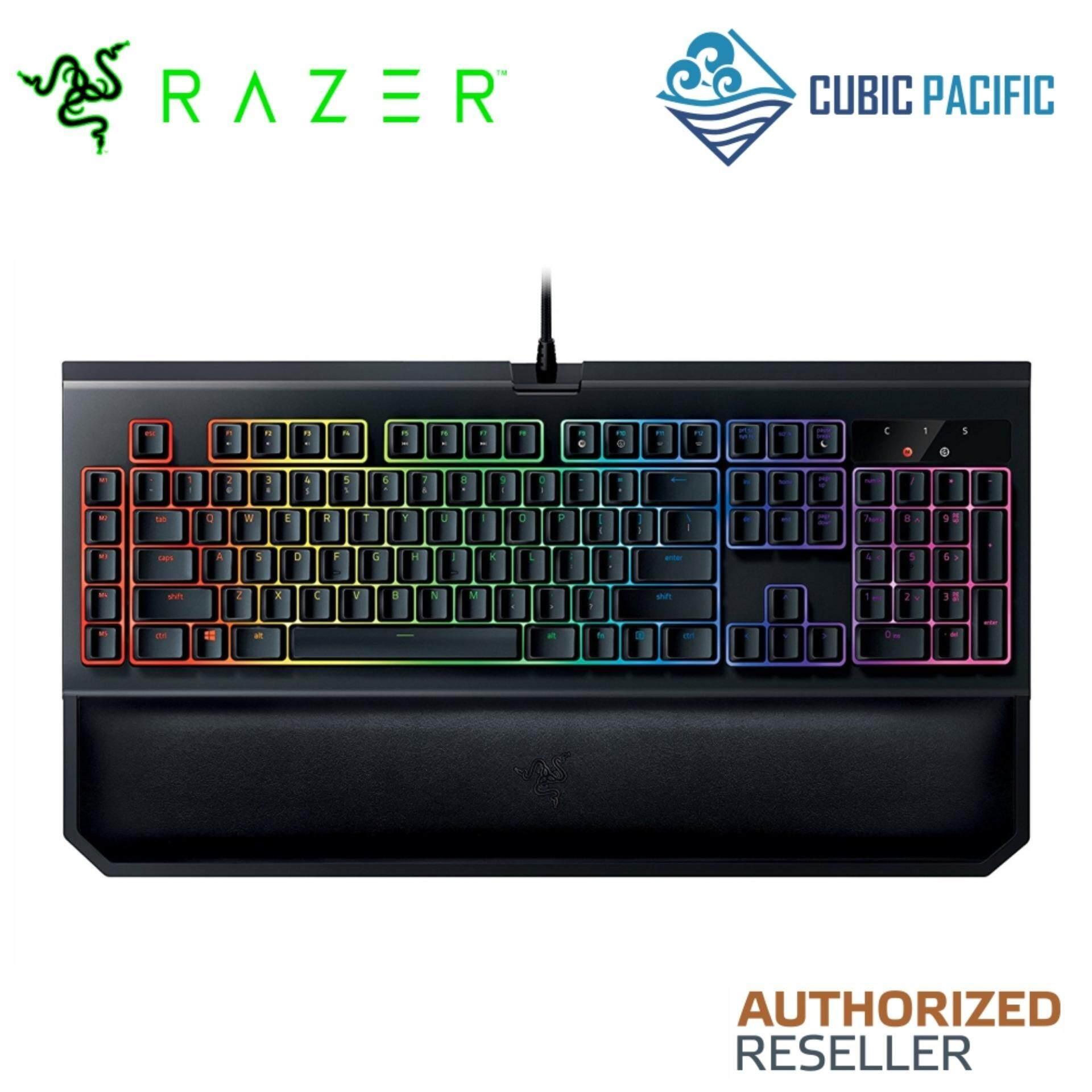 Razer Blackwidow Chroma V2 Mechanical Keyboard (Razer Orange Switch, Multi-Colour Backlit Keys) - RZ03-02031600-R3M1 Malaysia