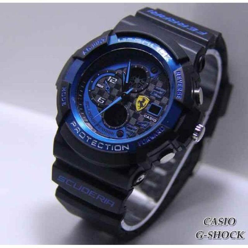 Casio G-Shock FERRARI Black/blue COLOR WATCH Malaysia