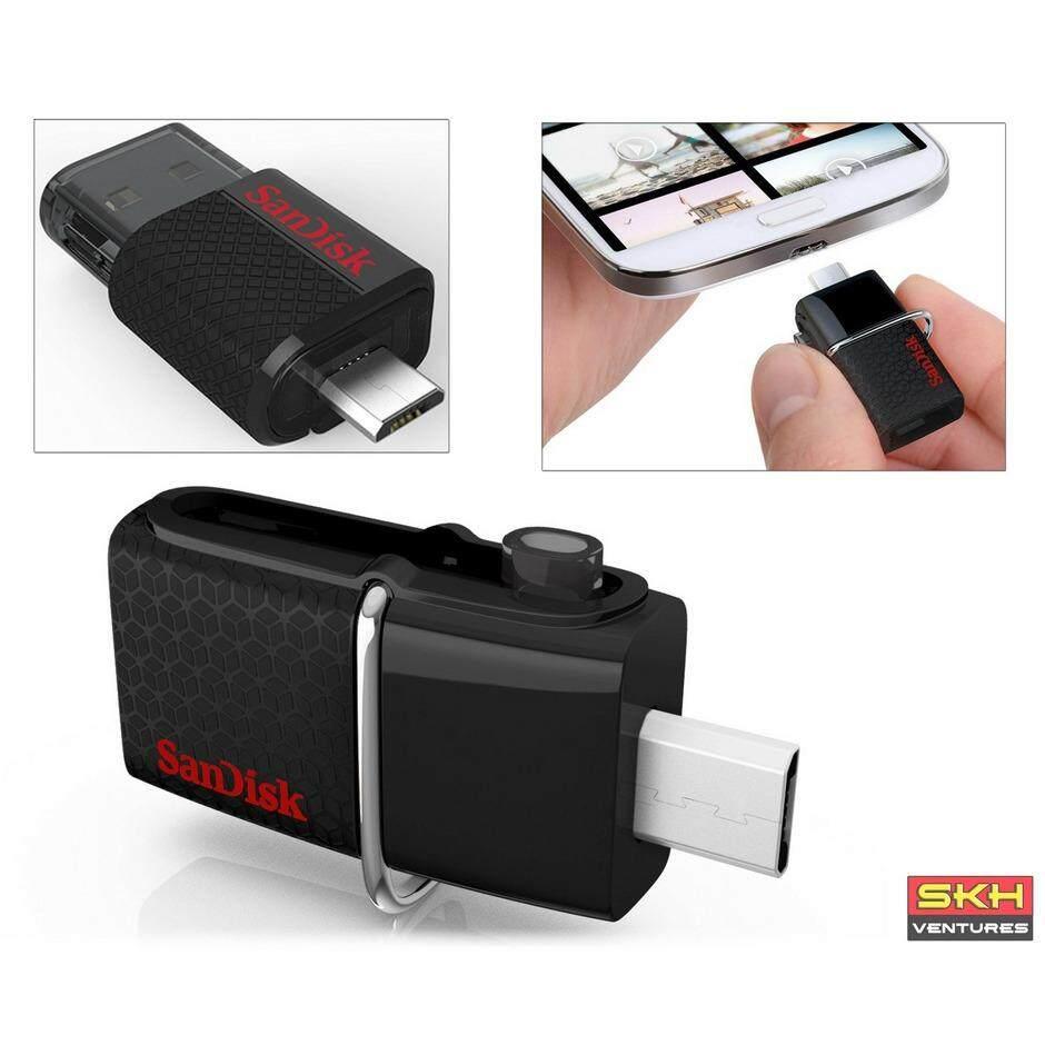 Yang Paling Murah Sandisk Ultra Dual Otg Drive M30 64gb Sddd3 064g Usb Original 64 Gb 30 Micro Flash 16gb