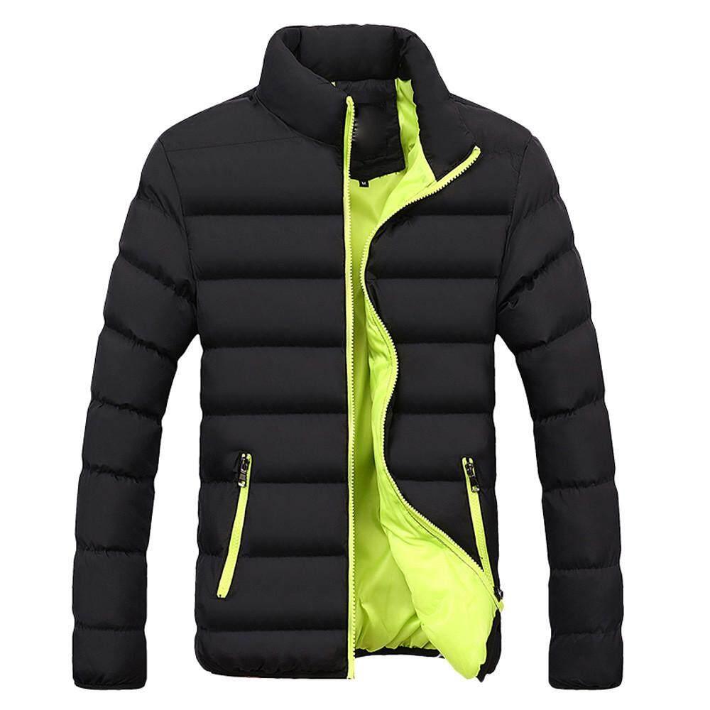 ac13c37ce7 Rainny Men Winter Warm Slim Fit Thick Bubble Coat Casual Jacket Parka  Outerwear