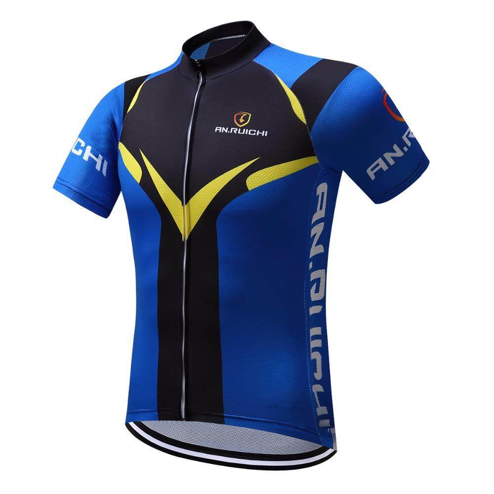 beb01ad0c 100% Polyester Cycling Jersey Summer Sportswear Bicicleta cycling jersey  Cycling Clothing Short Sleeves