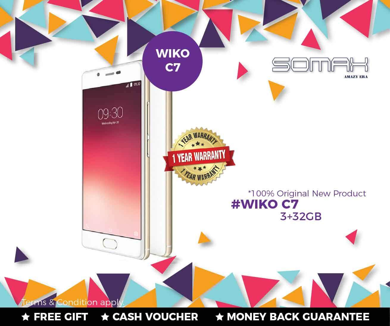 Wiko Mobiles Tablets Price In Malaysia Best Voucher 3 1gb C7 Chipset Mediatek Quad Core 32gb Only White