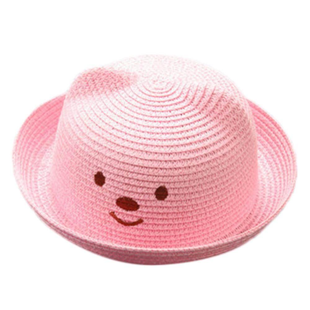 fa97dfaf45fe Summer Baby Cartoon Children Breathable Hat Straw Hat Kids Hat Boy Girls  Hat Cap